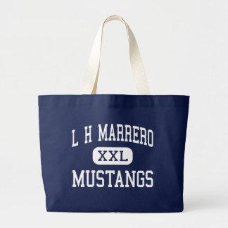 L H Marrero Mustangs Middle Marrero Canvas Bag