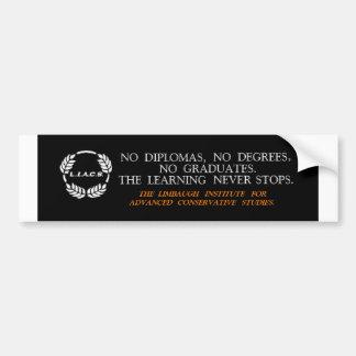 L.I.A.C.S. bumper sticker