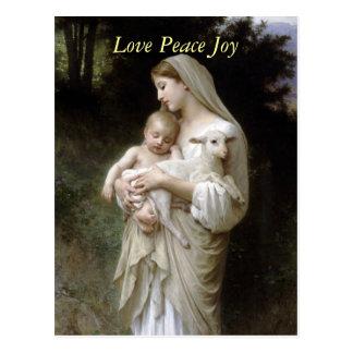 L innocence por Bougeureau postales del navidad