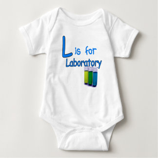 L is for Laboratory T-shirt