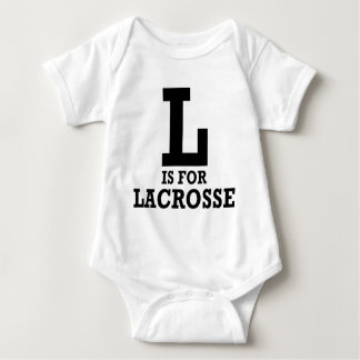 L is for Lacrosse T Shirts
