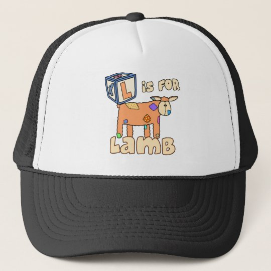 L is for Lamb Hat