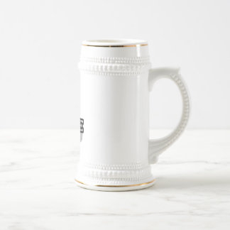 L is for Lance 18 Oz Beer Stein
