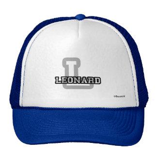 L is for Leonard Trucker Hat