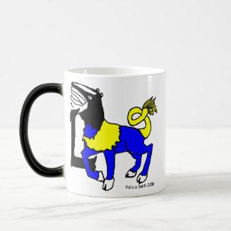 L is for Leucrocotta Magic Mug