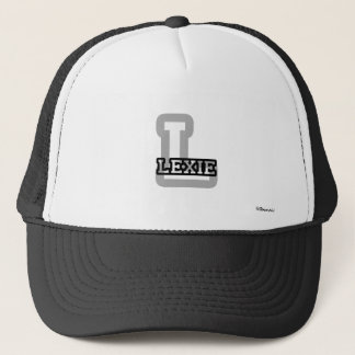 L is for Lexie Trucker Hat