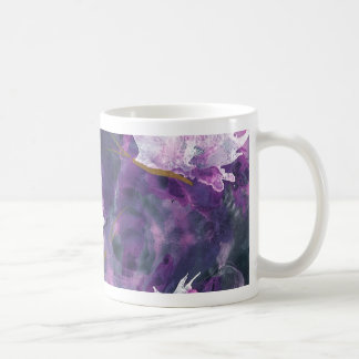 L is for Lilac alphabet art mug