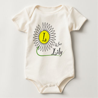 L is for Lily Daisy Romper