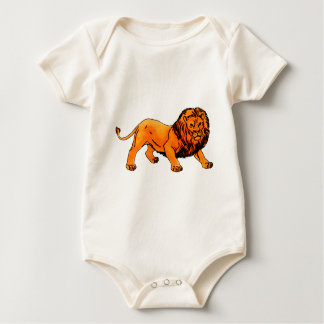 'L' is for Lion Baby Bodysuit