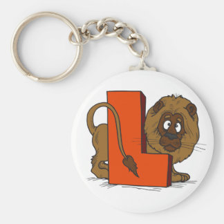 L Is for Lion Keychain