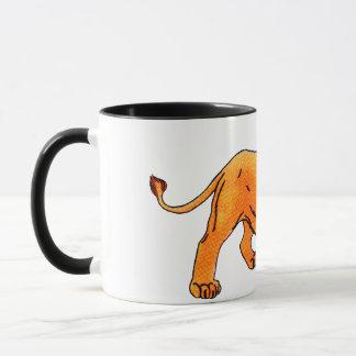 'L' is for Lion Mug