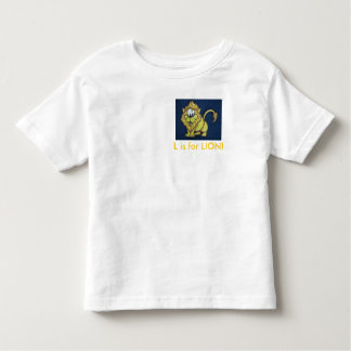 L is for LION! Toddler T-shirt