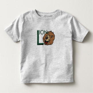 L is for Lion Toddler T-shirt