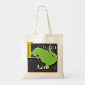 L Is For Lizard L Is For Lori Tote Bag