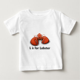 L is for Lobster Baby T-Shirt