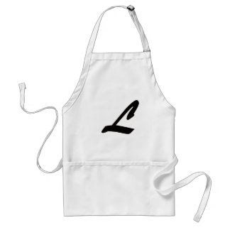 L is for Lover Adult Apron