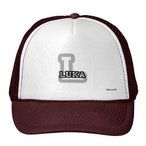 L is for Luka Trucker Hat