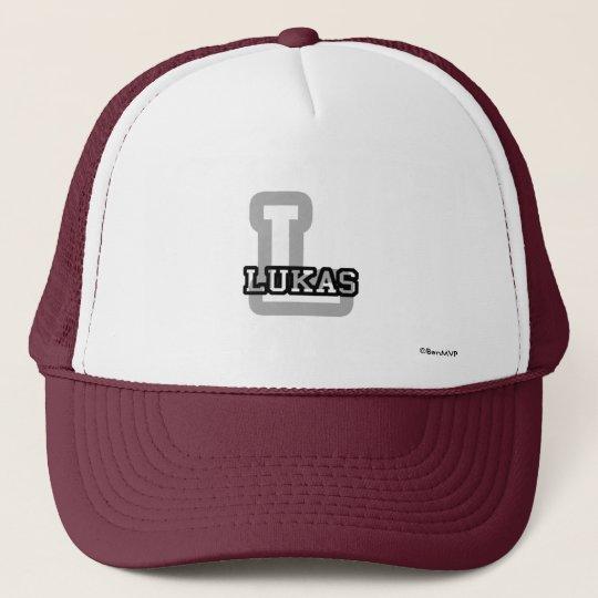L is for Lukas Trucker Hat