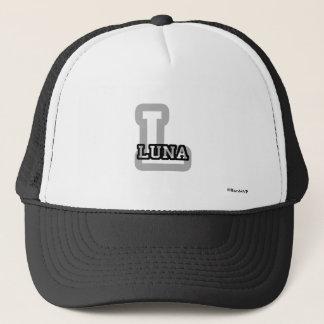 L is for Luna Trucker Hat