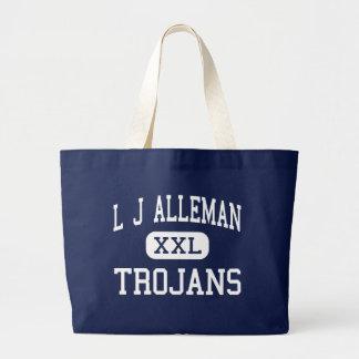 L J Alleman Trojans Middle Lafayette Bag