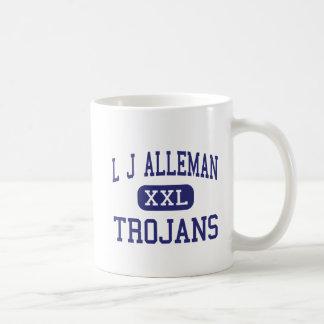 L J Alleman Trojans Middle Lafayette Coffee Mug