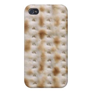 L kosher Pesach del Matzah del Matzo iPhone 4 Carcasa