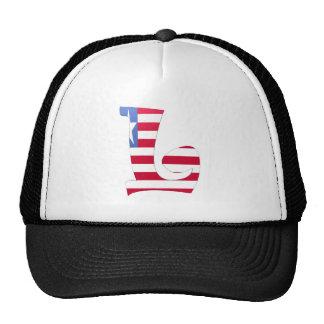 L (Liberia) Mesh Hats