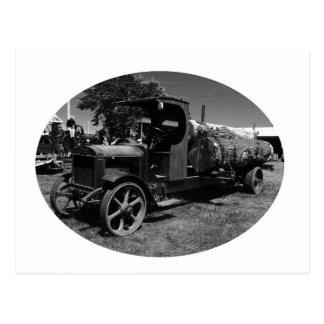 l log truck1 postcard