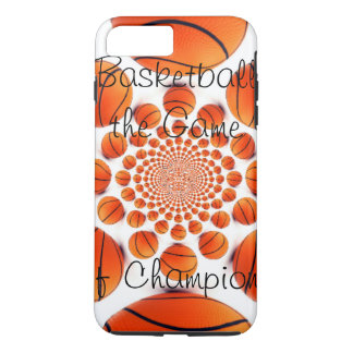 l Love Basketball the game of champions iPhone 7 Plus Case