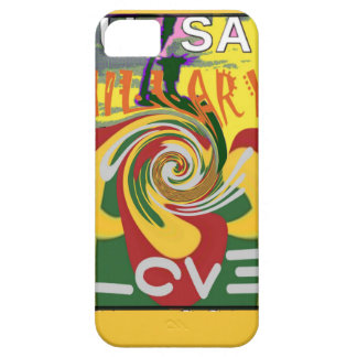 l Love Hillary USA President Stronger Together red iPhone SE/5/5s Case