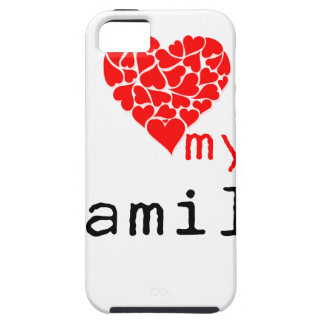 l love my family iPhone SE/5/5s case