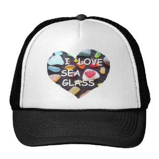 l LOVE SEA GLASS Mesh Hat