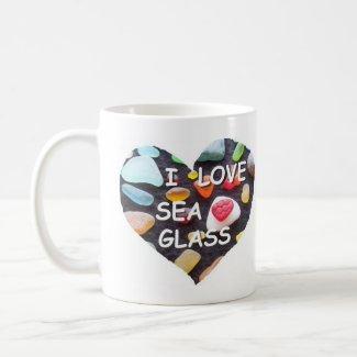 l LOVE SEA GLASS mug
