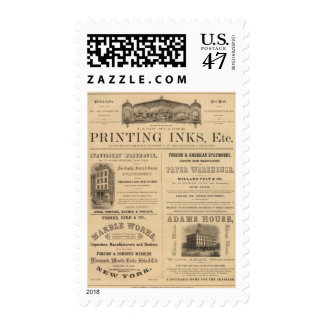 L Martin y Company Timbre Postal