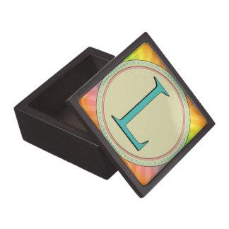 L MONOGRAM LETTER PREMIUM GIFT BOXES