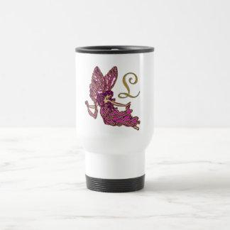 L  Monogram Travel Mug