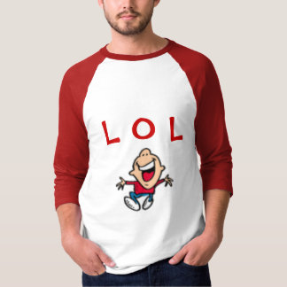 L O L camiseta - manga larga