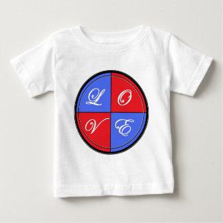 L-O-V-E Circle Baby T-Shirt