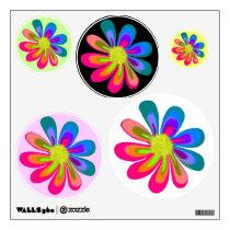L O V E Flower Wall Sticker