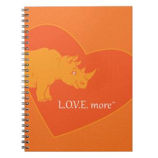 L.O.V.E. Más diario Cuadernos