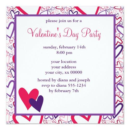 L O V E Valentine's Day Celebration Card