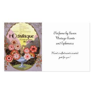 l Odalisque Perfume Label Business Card