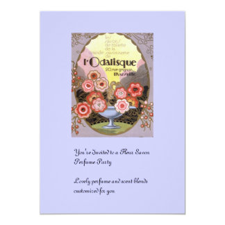 l Odalisque Perfume Label Card