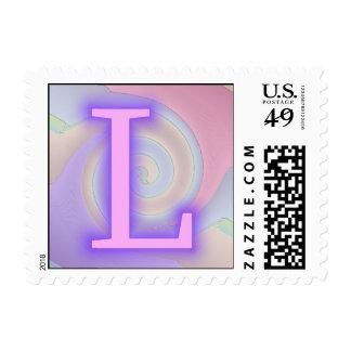 L pasión de la púrpura del monograma
