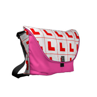 L-Plate Learner Driver / Bachelorette Hen Night Courier Bag