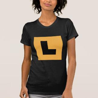 L Plates (black/yellow) Tee Shirts