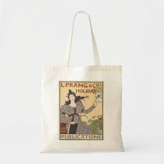 L. Prang & Co's Holiday Publications Ad Vintage Tote Bag