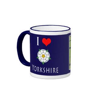 l taza de Yorkshire del amor - añada su propia