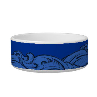 L - The Falck Alphabet (Blue) Pet Bowl