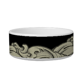L - The Falck Alphabet (Golden) Cat Water Bowls
